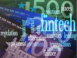 fintech-word-cloud-to-fintech--financial-technology-.-background--euro-bills--blue