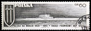 orzel--polish-navy-during-world-war-ii-serie--circa-1970
